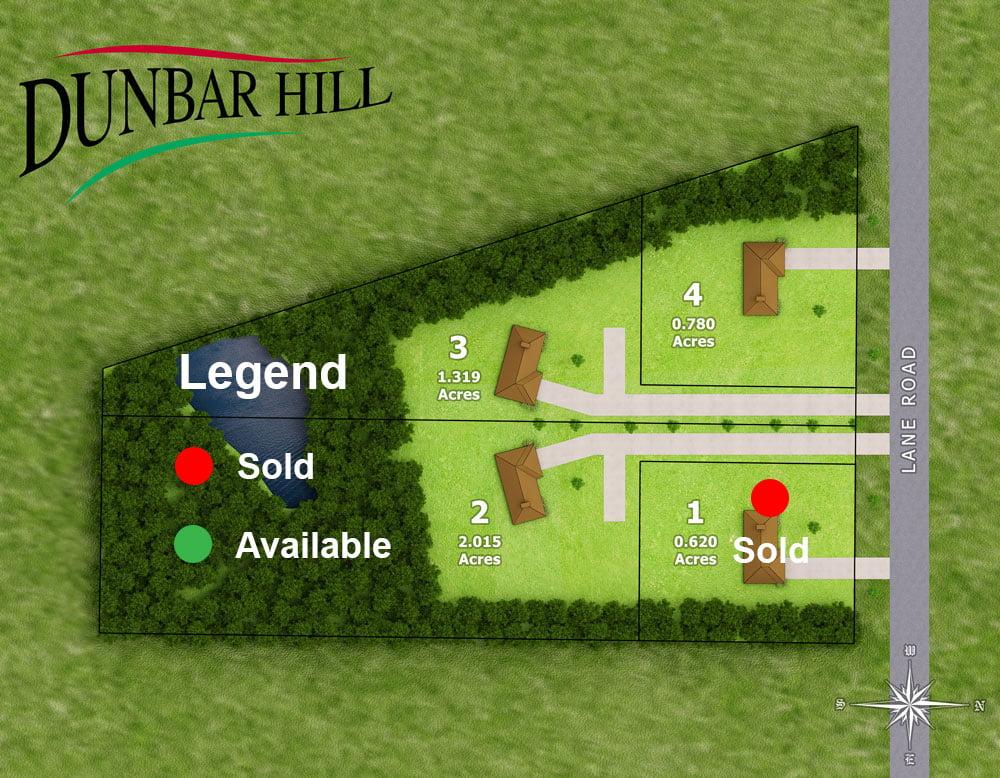 Dunbar Hill Neighborhood Layout Map